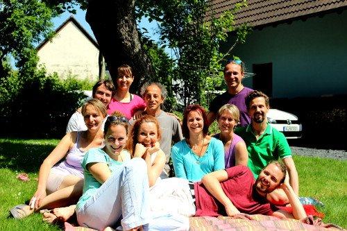 Gruppenbild Thai Massageausbildung