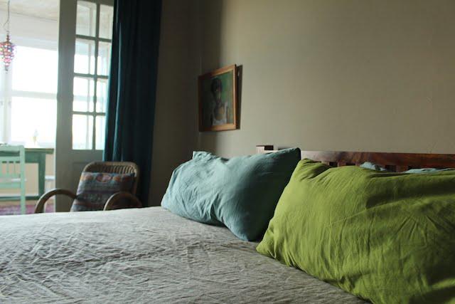 Bett Gästezimmer Liegenschaft