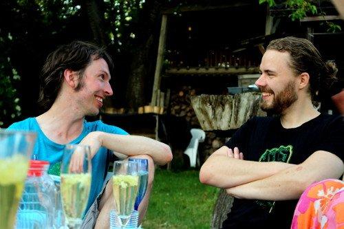 Tobi und Chris