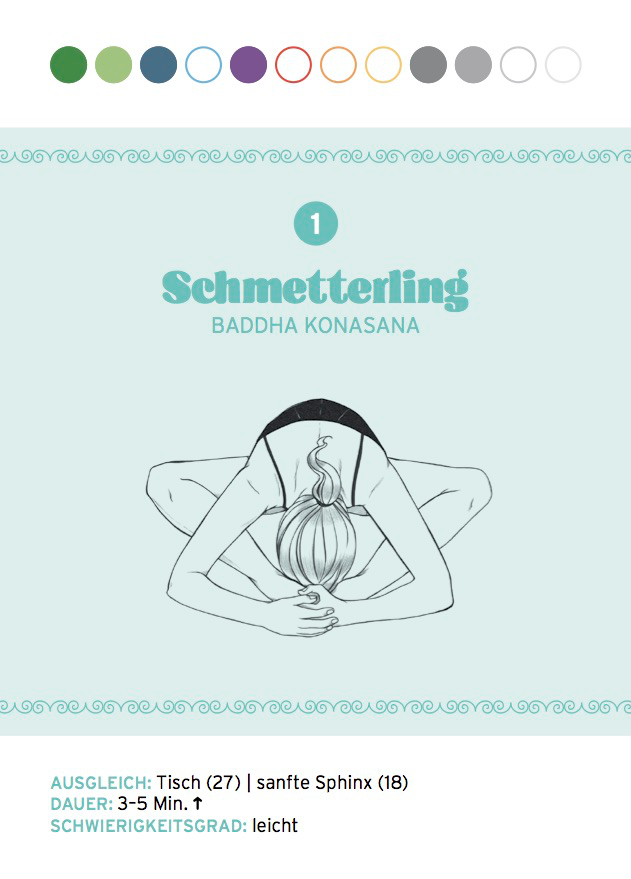 Yin Yoga: Schmetterling