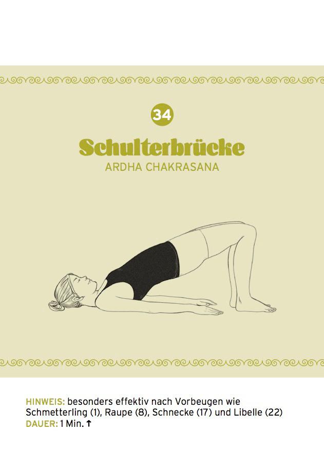 Yin Yoga: Schulterbrücke