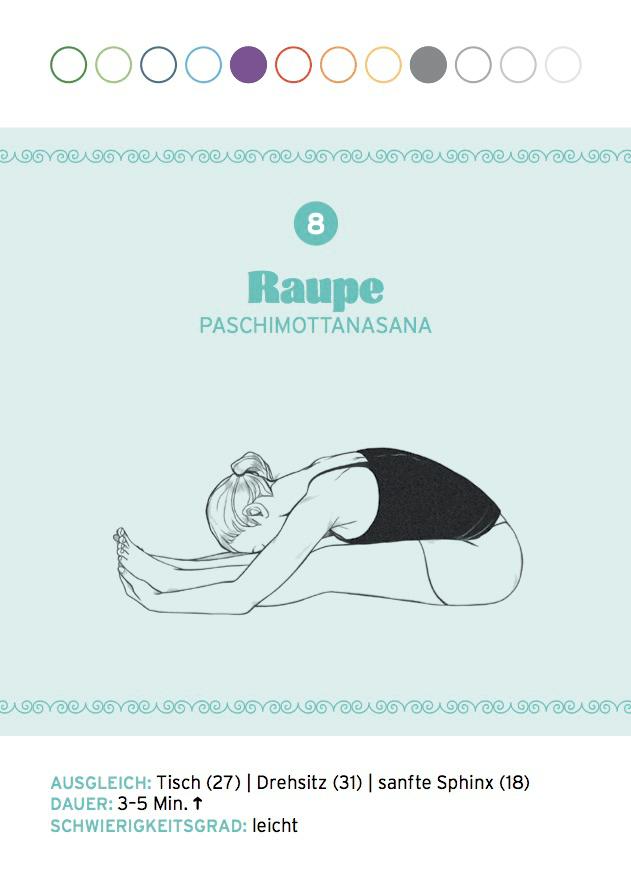 Yin Yoga: Raupe