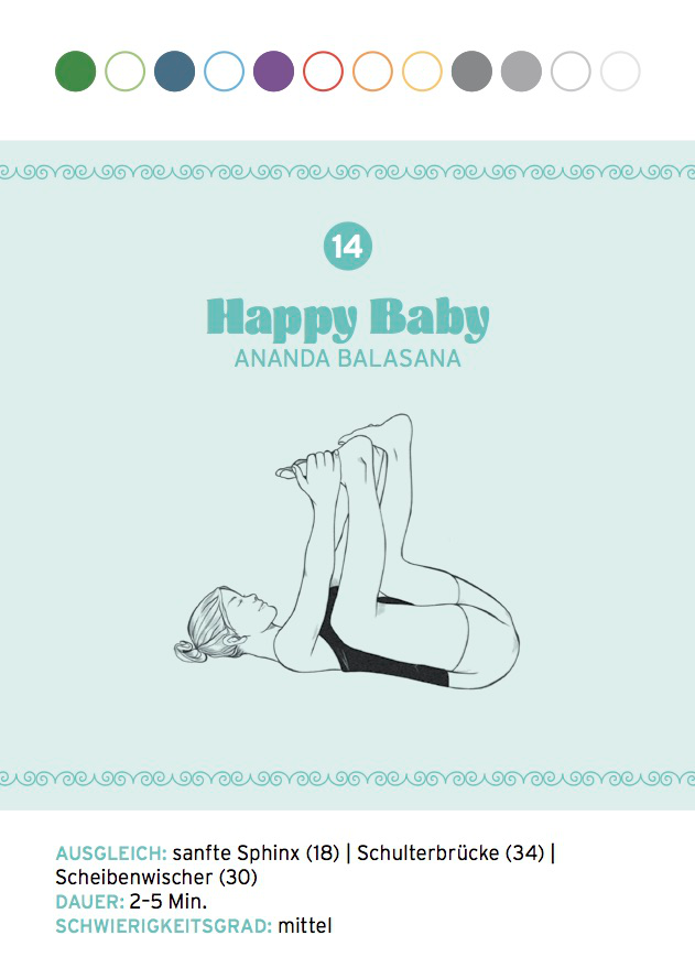 Yin Yoga: Happy Baby