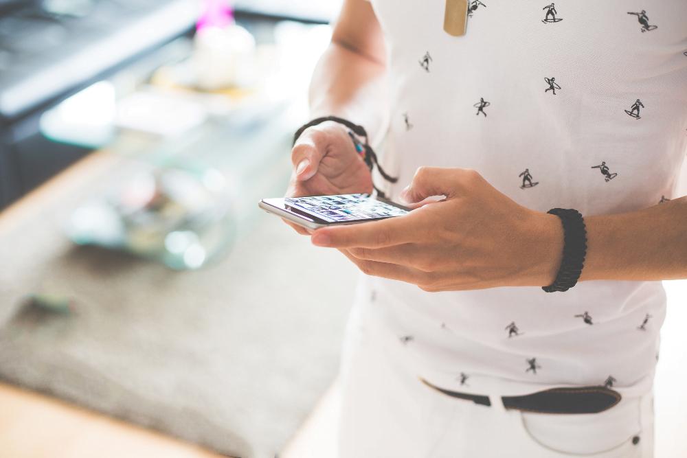 Smartphone Gewohnheit