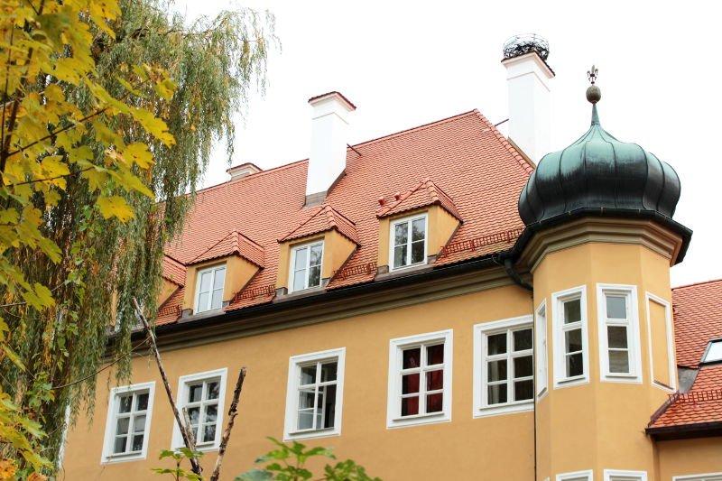Hotelgebäude Schloss Blumenthal