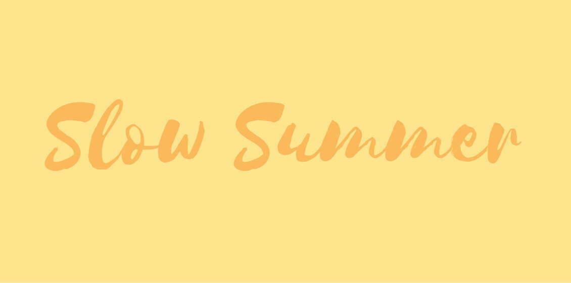 Slow Summer Beitragsbild