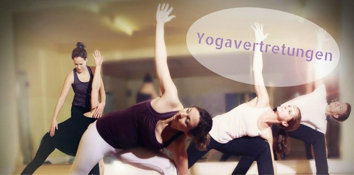 Yogavertretungen