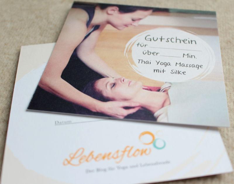 Thai Yoga Wiesbaden Gutschein
