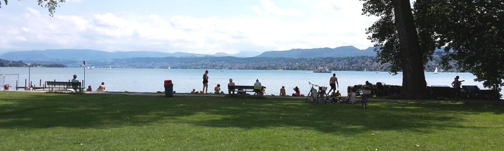 Yoga am Zürichsee
