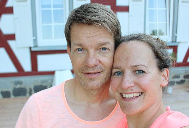 Chris Ahrweiler und Silke Schuster