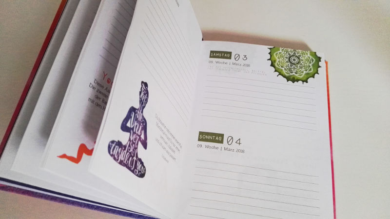 Yoga Taschenkalender