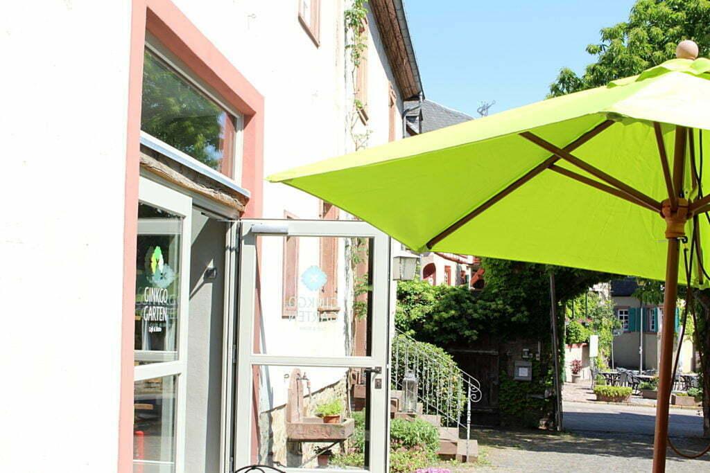 Café Ginkogarten Kiedrich Rheingau